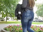 Girl with massive ass