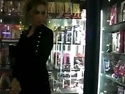 Sheryl Riviera in the sexshop