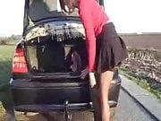 Car sex - tow bar