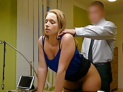 LOAN4K. Miss can't refuse offer of loan manager and gets...