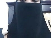 Saudi girl exposed chest